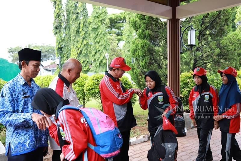Kirim 269 Atet di POPDA Jateng, Gus Yazid Minta Atlet Bawa Nama Baik Kebumen