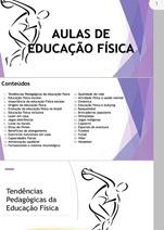 AULAS DE EDUCAÇÃO FÍSICA ESCOLAR