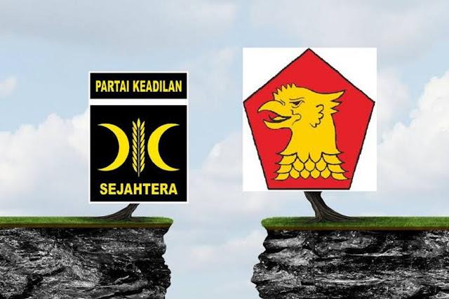 Gerindra dan PKS Resmi Cerai