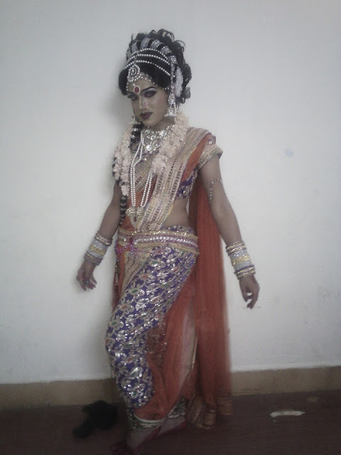 Crossdressing Male Dancer