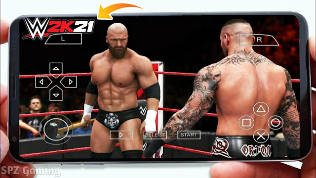 Download WWE 2K21 PPSSPP Android Offline 600MB Best Graphics