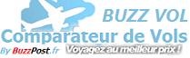 Buzz Vol - Comparateur de Vols  Le comparateur de Vol compare vos voyages. Tous les vols sont recherchés en temps réel et agrégés pour vous offrir un vision synthétique des différents billets d'avion disponibles.