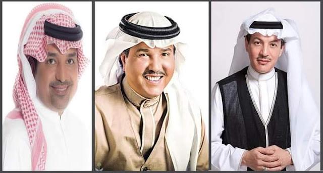 """""""طلال سلامة"""" """"محمد عبده"""" وراشد الماجد يغردون بتوقيع الشاعر نهار في حب الملك سلمان."""