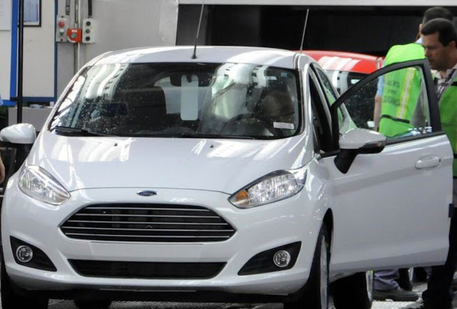 Novo New Fiesta 2014 Hatch - Branco