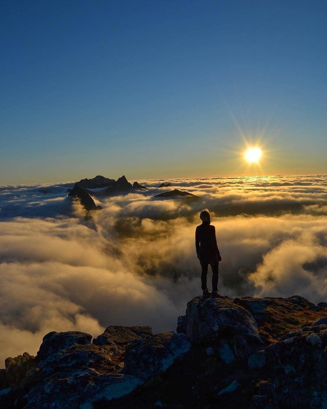 Sunset Gunung Telomoyo