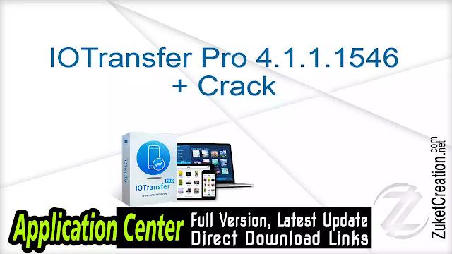 IOTransfer Pro 4.1.1.1546 + Crack
