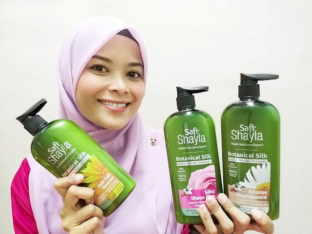 Safi Shayla Botanical Silk Syampu Terbaik Untuk Wanita Bertudung