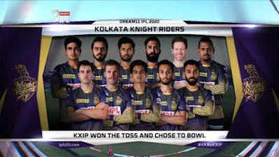 IPL 2020 Kolkata Knight Riders vs Kings XI-Who Will Win