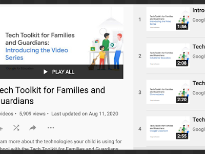Google Toolkit for Parents and Educators