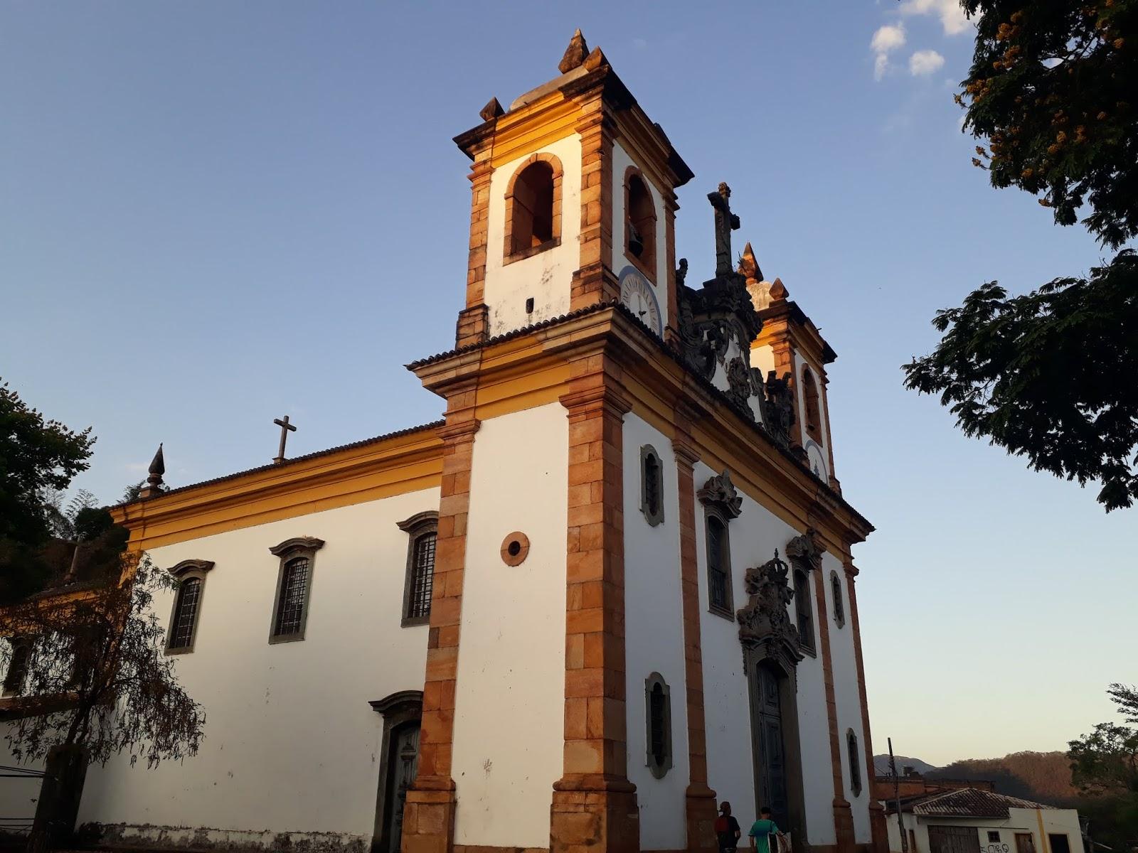 Igreja de Nossa Senhora do Carmo, Sabará. Estrada Real