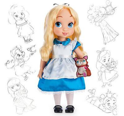 Алиса в стране чудес малышка аниматор