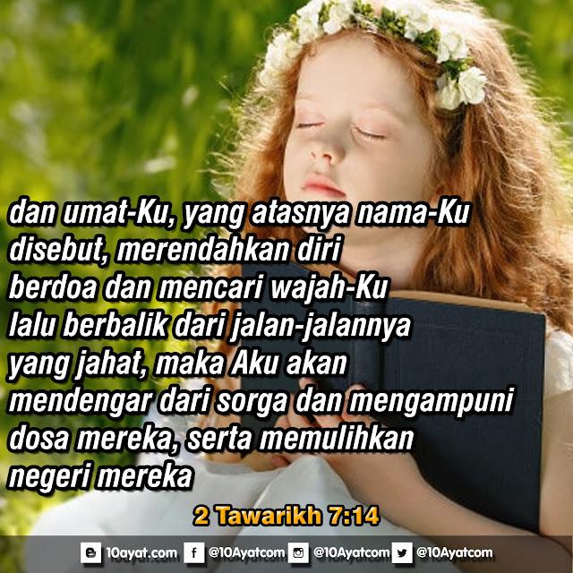 2 Tawarikh 7:14