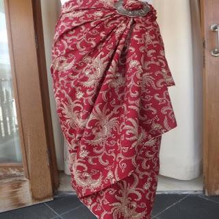 model rok batik untuk kebaya muslim