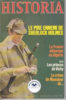 Revue Historia, 404 1980, Sherlock Holmes