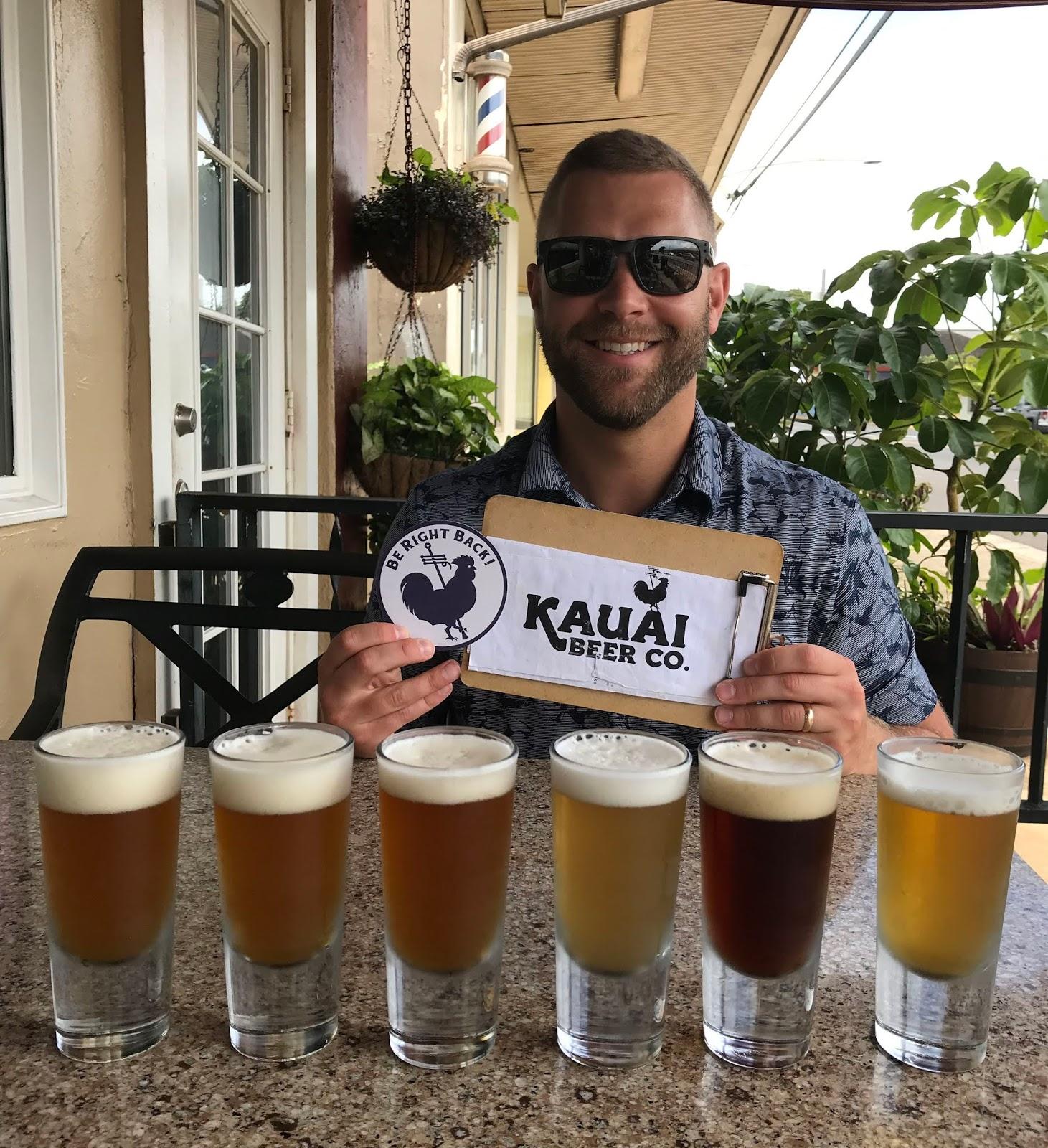 Kauai Beer Company | Breweries in Kauai | Itinerary for Kauai Trip | A Memory of Us