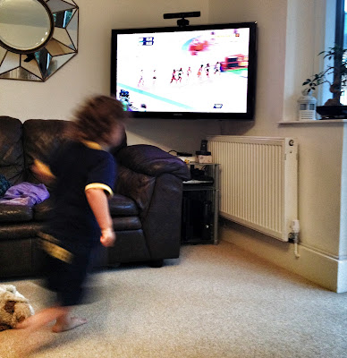 Day 216 of The 366 Project -  A future Olympian perhaps?