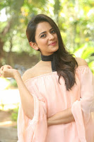 Rakul Preet Singh in lovely Pink Crop Top and Black Trousers at Jaya Janaki Nayaka success meet 028.JPG