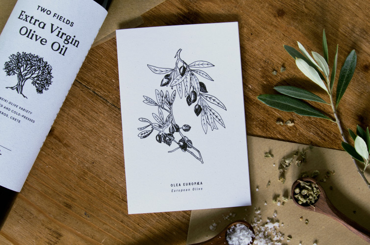 Botanical Greeting Card - Alfie's Studio