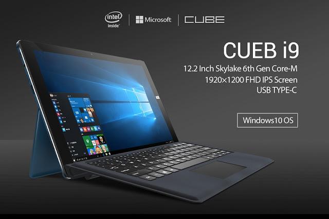 Cube i9 - Intel Skylate M3, 4G RAM, 128GB SSD Storage