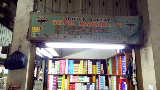Banyak Stok Obat Kosong di Pasar Pramuka karena Rupiah Tak Stabil