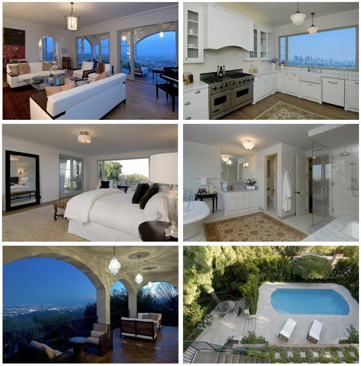 Charlie Sheen S Mediterranean Style Home In L A: WEIRDLAND: Charlie Sheen And Megan Fox (Los Feliz Homes