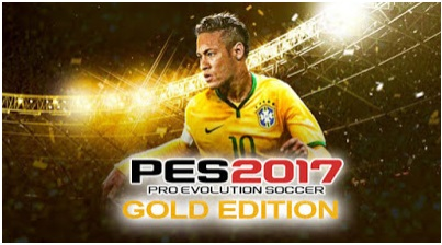 Download New Games PES 2017 Special Gold Edition Free