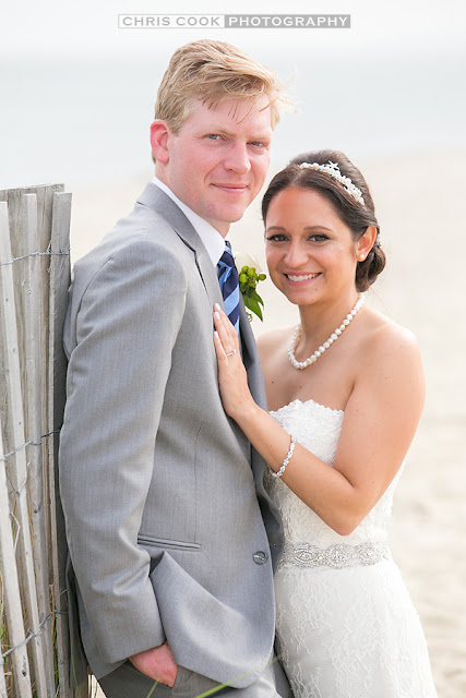Cape Cod wedding blog photo from Chris Cook Photography about Casey & Jake – Sneak Peek – West Dennis Yacht Club