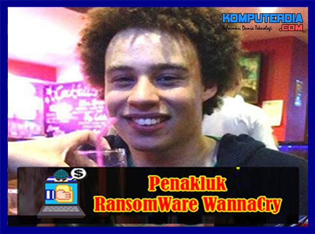 Marcus Hutchsins (si Kribo) Pemuda Penakluk Virus Ransomware WannaCry
