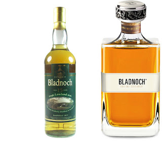 Bladnoch single malt bottles