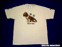basset hound t shirt for dog breed lovers