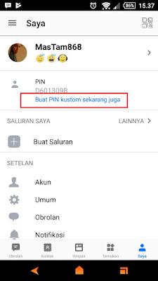 Menambah PIN BBM Gratis