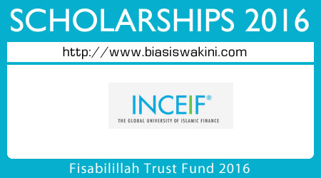 Fisabilillah Trust Fund 2016