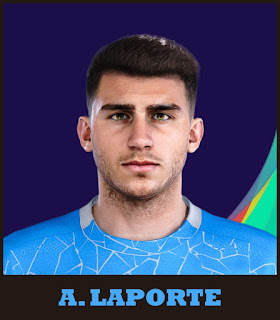 PES 2021 Faces Aymeric Laporte by Raden