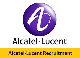 Alcatel-Lucent Recruitment 2017-2018