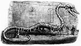 Reconstrucción del monstruo Hydrarchos de Albert Koch