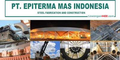 Lowongan Kerja PT. Epiterma Mas Indonesia Cikarang 2019