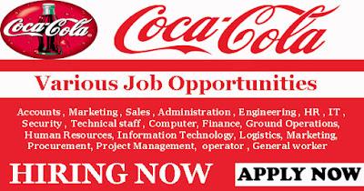 Apply for 2017 Coca-Cola Nigeria Recruitment (Company Website & Email Address)