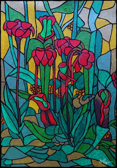 Art Print Pitcher Plant
