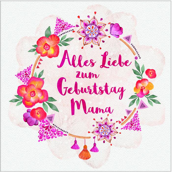 Alles Gute Zum Geburtstag Mutti Alles Gute Mama
