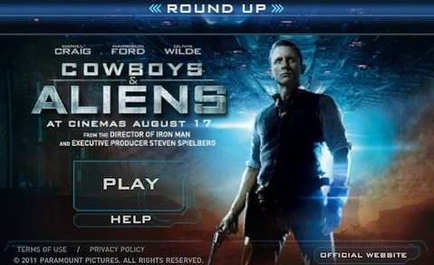 Cowboys & Aliens Round Up