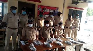 मनावर पुलिस को अवैध हथियार तस्करों पर कसा शिकंजा, मिली बड़ी सफलता