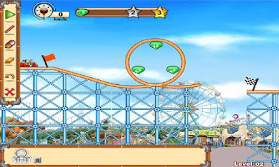Game Membuat Roller Coster | RollerCoaster Creator 2 Android