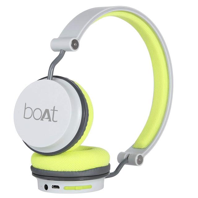 Boat Bluetooth Headphones - On-Eer Headphone