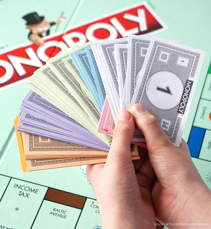 Teach Kids About Money with Board Games artsy-fartsy mama