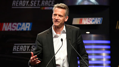 Steve Phelps, the new #NASCAR Executive Vice President and Chief Global Sales and Marketing Officer.
