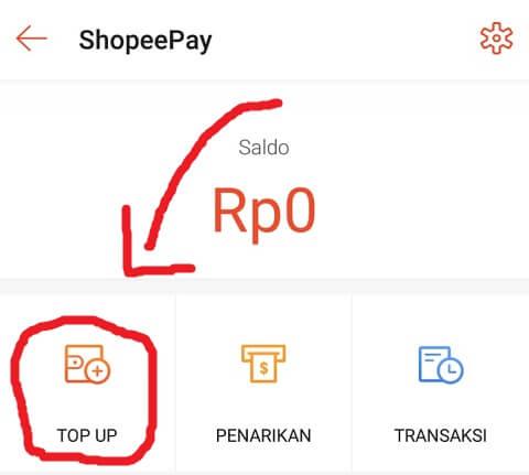 Halaman ShopeePay