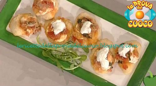 Sfincionelli fritti con ricotta ricetta Piparo da Prova del Cuoco