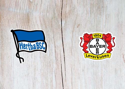 Hertha BSC vs Bayer Leverkusen -Highlights 21 March 2021