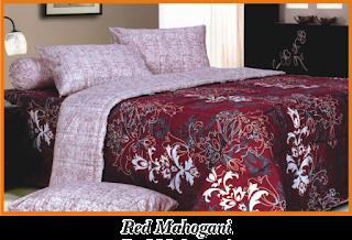Sprei & BedCover Impression - Red Mahogani
