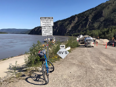 Beautiful Crossing over the Yukon River